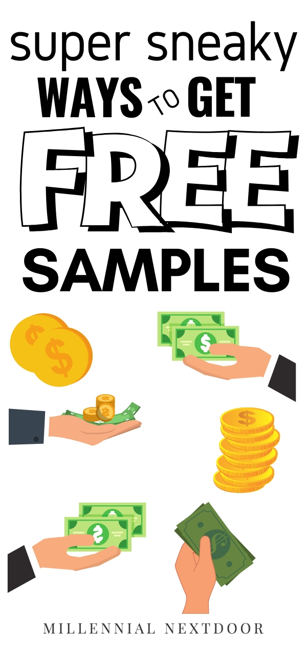 The Sneaky Way to Get Free Samples