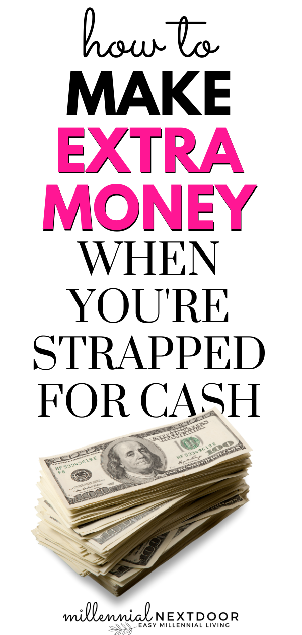 5 Ways to Make Extra Money When You're Strapped for Cash